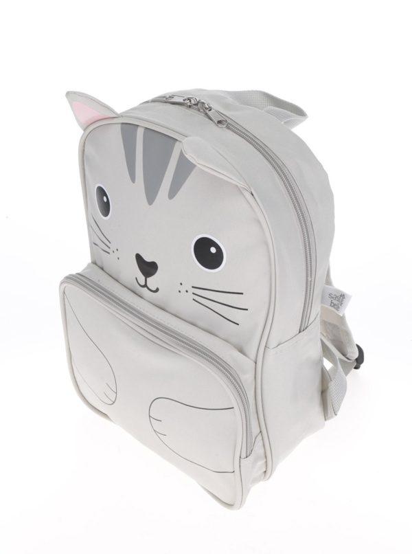 Krémový batoh s motívom mačky Sass & Belle