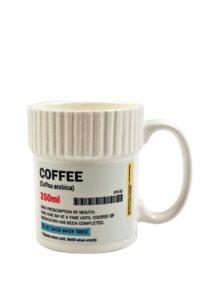 Krémový hrnček na predpis Gift Republic Coffee