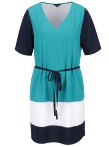 Zelené šaty s pruhmi Nautica