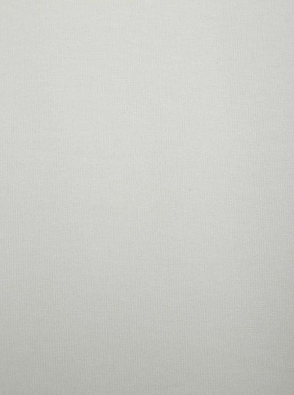 Krémové basic tričko s krátkym rukávom ONLY & SONS Basic