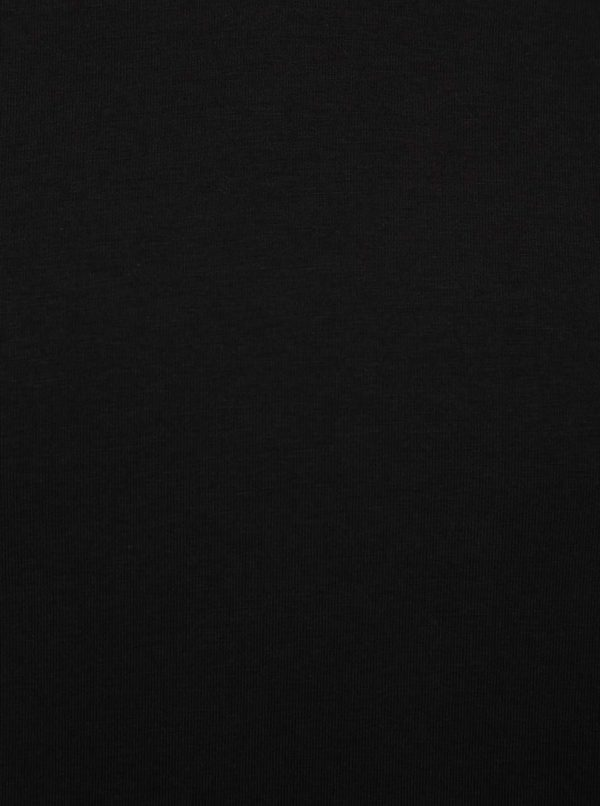 Čierne basic tričko s krátkym rukávom ONLY & SONS Basic
