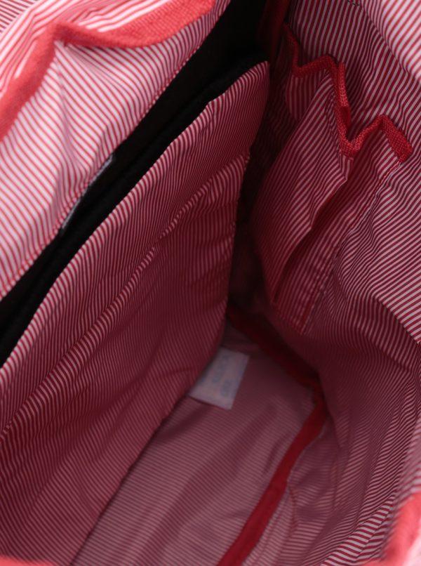 Sivý batoh s hnedými popruhmi Herschcel Retreat 19,5 l