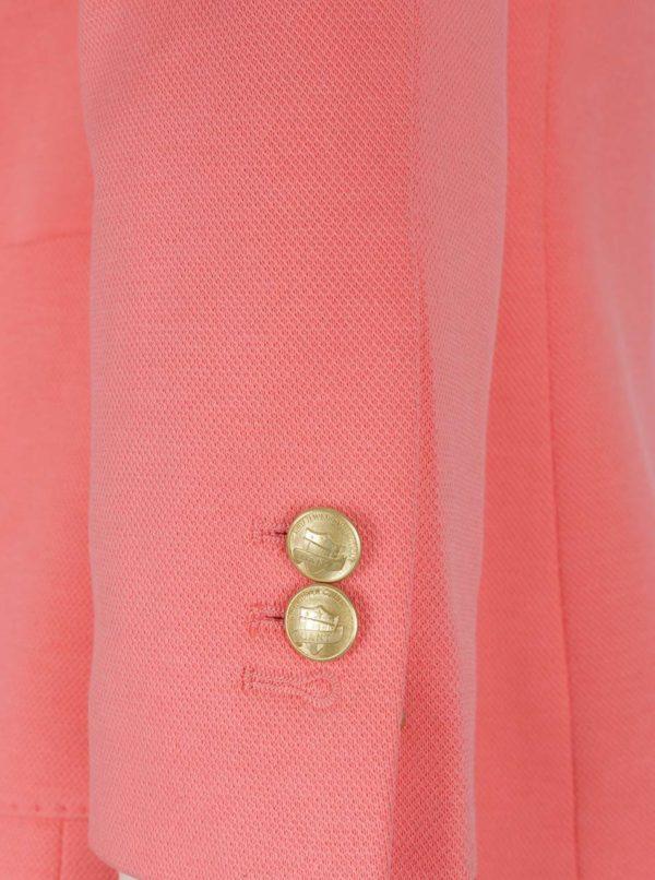 Ružové dámske sako GANT Jersey