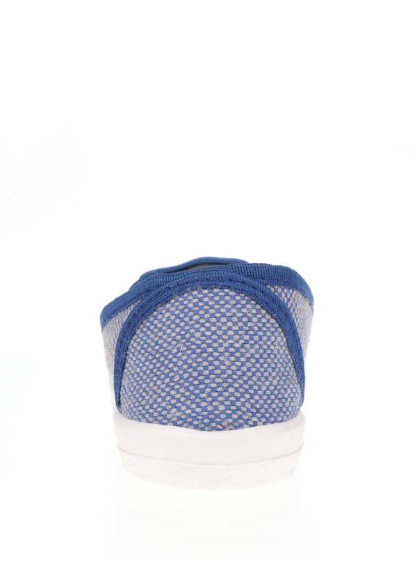 Modré unisex vzorované slip-on Oldcom Cooper