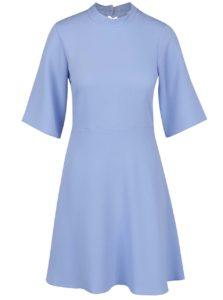 Svetlomodré šaty s voľným 3/4 rukávom Closet
