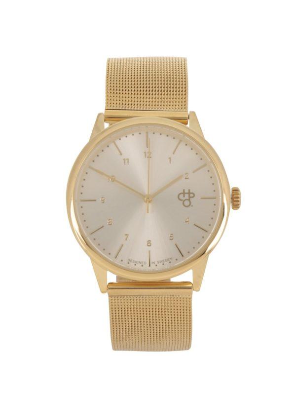 Dámske hodinky v zlatej farbe CHPO Rawiya