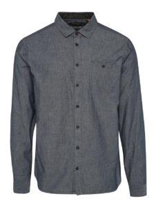 Tmavomodrá pánska košeľa Blend