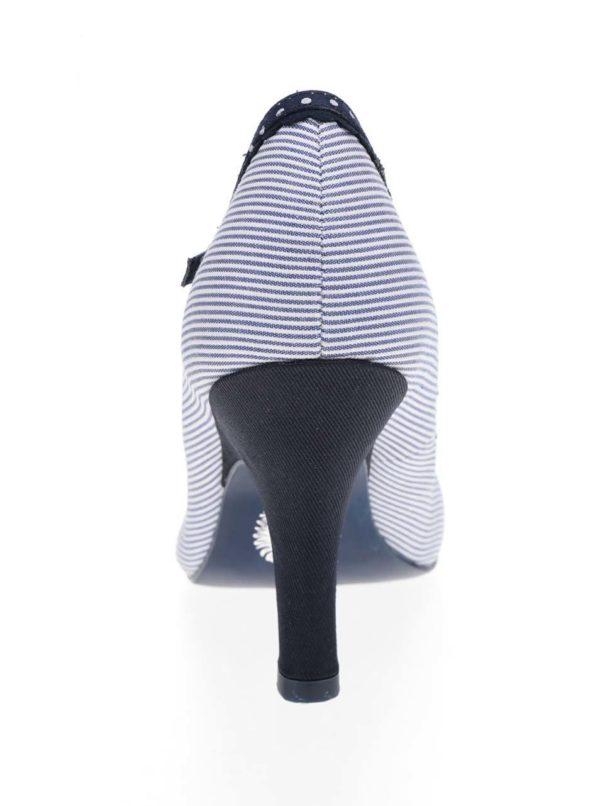 Modré pruhované lodičky Ruby Shoo Jessi