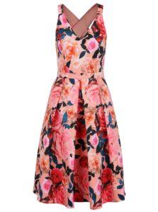 Ružové kvetované šaty Dorothy Perkins