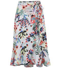 Svetlomodrá vzorovaná sukňa Dorothy Perkins