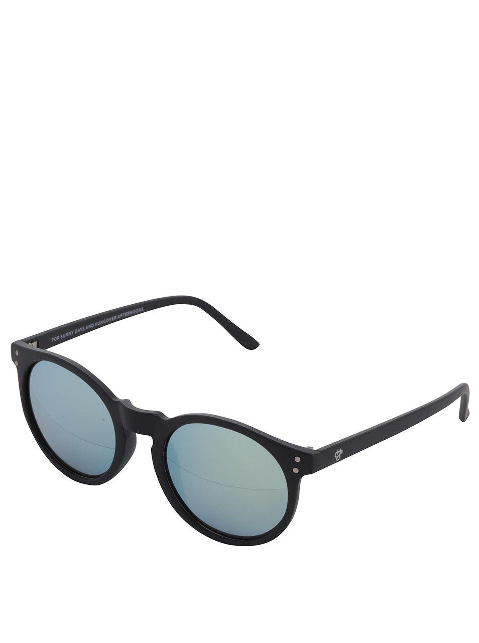 Čierne unisex slnečné okuliare CHPO Mavericks  f1aae5bc3fe