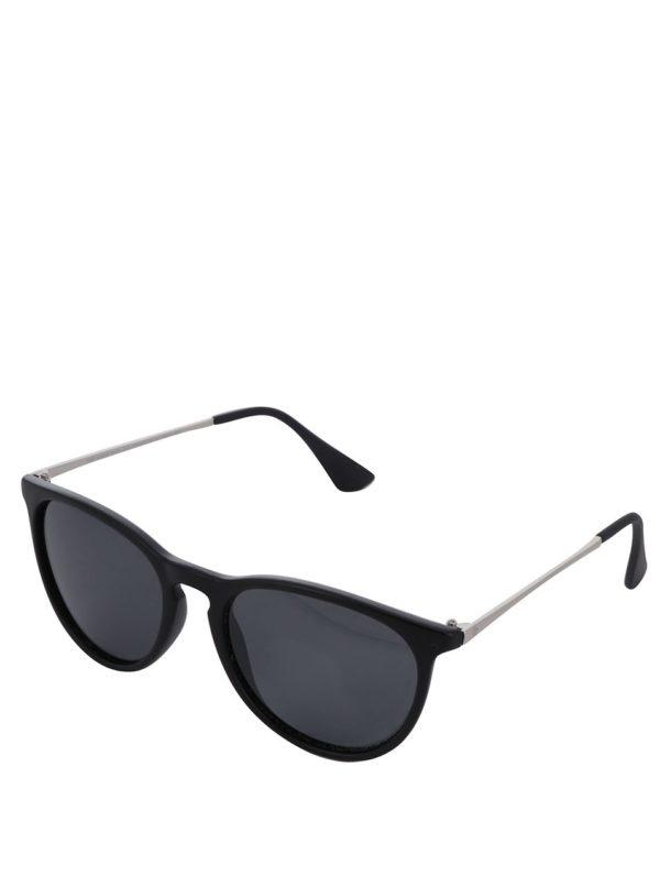 Čierne unisex slnečné okuliare CHPO Roma