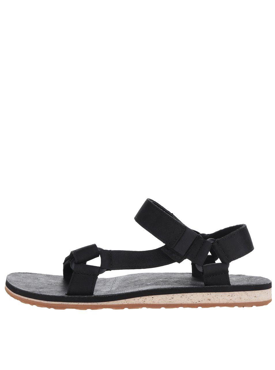 c0cfccdce Čierne kožené pánske sandále Teva | Moda.sk