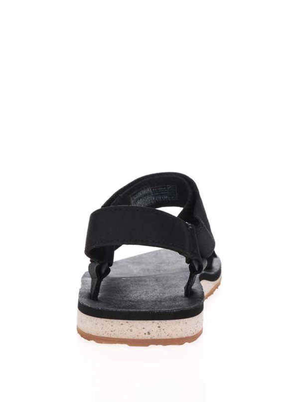 Čierne kožené pánske sandále Teva