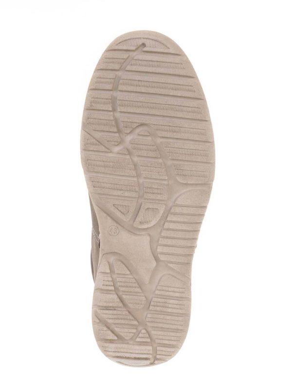 Béžové pánske kožené tenisky Weinbrenner