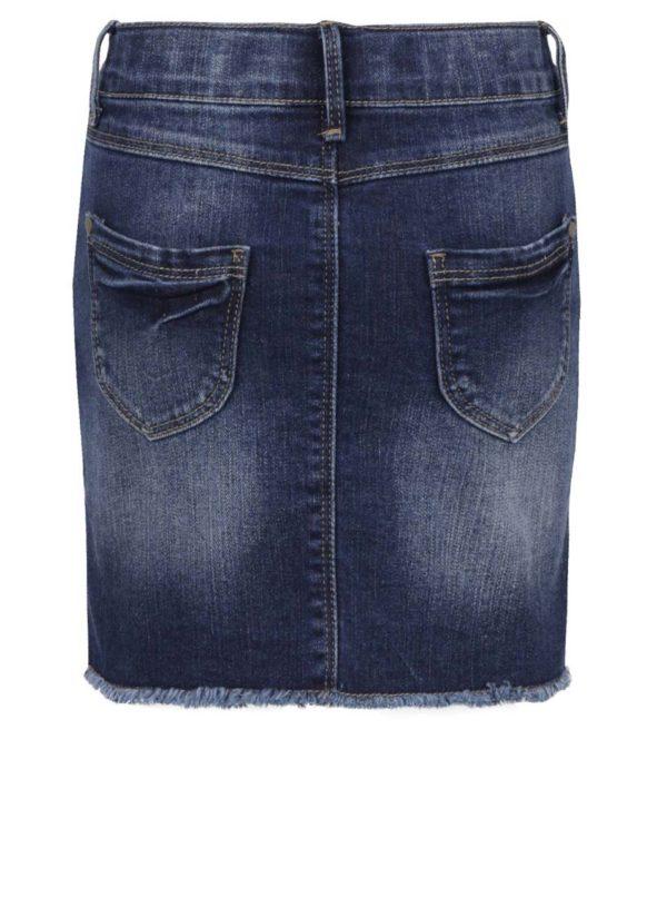 Modrá rifľová sukňa name it Abett