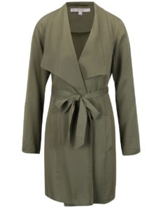 Zelený ľahký kabát Miss Selfridge Petites