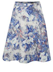 Bielo-modrá kvetovaná sukňa Smashed Lemon
