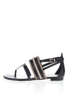 Čierne dámske sandále ALDO Nadya