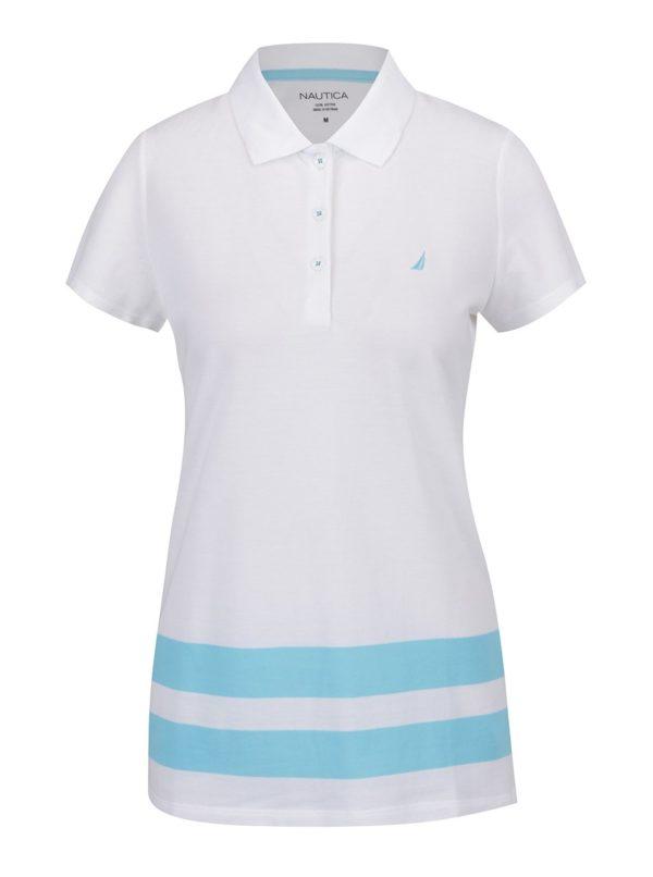 Modro-biela dámska polokošeľa Nautica