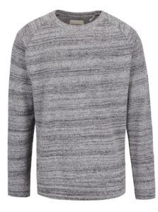 Sivý melírovaný sveter Shine Original