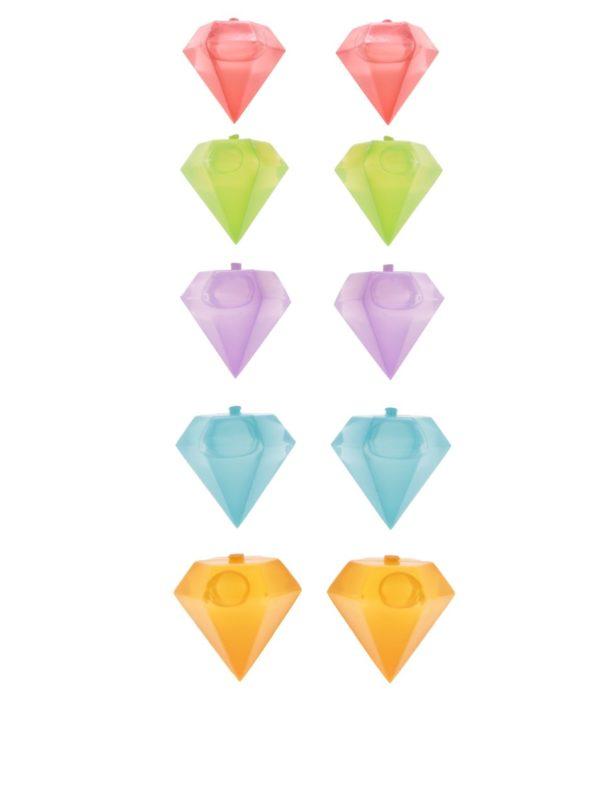Formičky na ľad v tvare diamantov Kikkerland