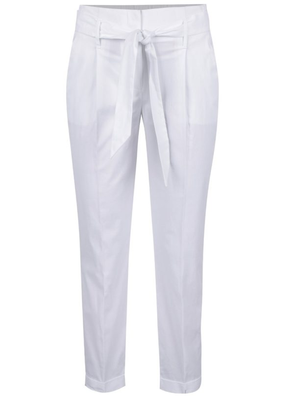 Biele dámske nohavice Dorothy Perkins