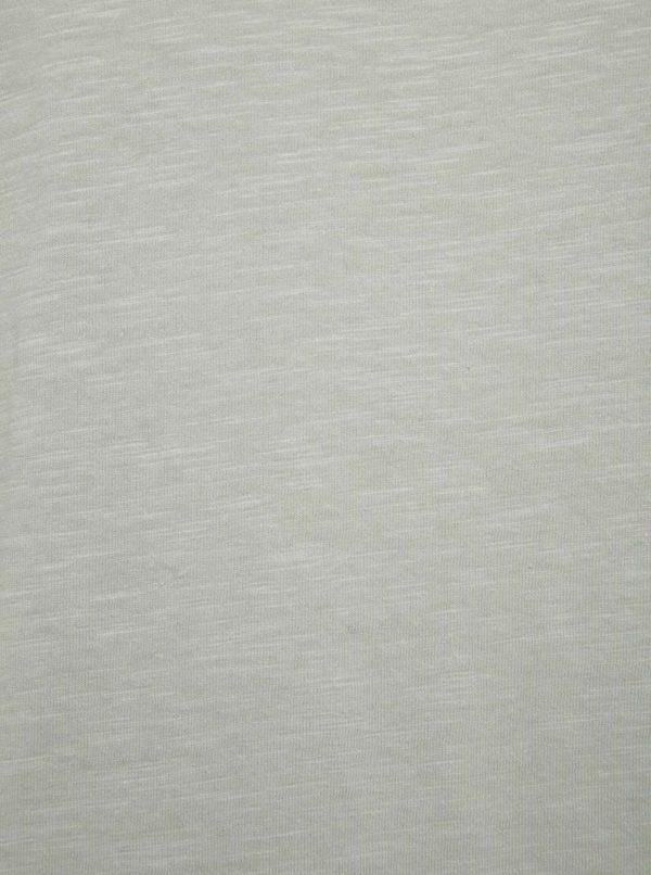 Sivé melírované tielko Jack & Jones New Wallet