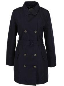 Tmavomodrý dámsky kabát Geox