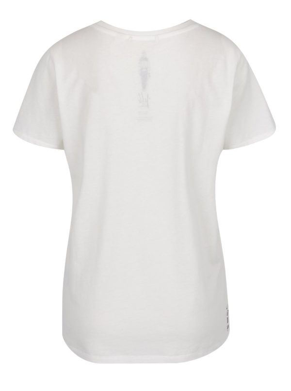 Biele dámske tričko s potlačou O'Neill