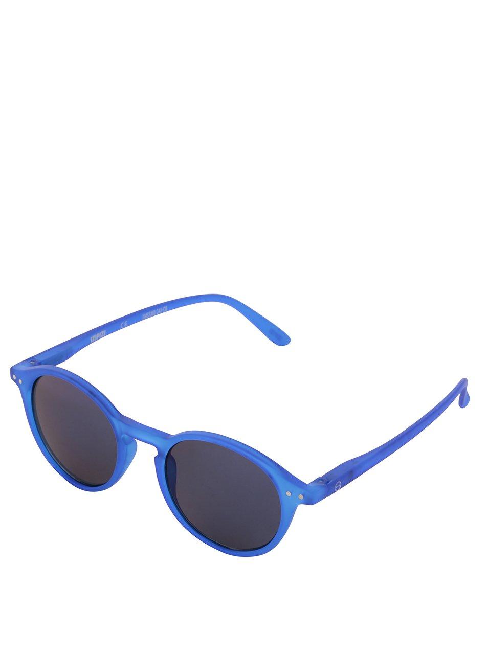 fe4ba342c Modré unisex slnečné okuliare so zrkadlovými modrými sklami IZIPIZI ...