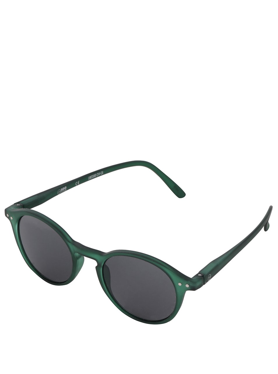 96b17a313 Zelené unisex slnečné okuliare s čiernymi sklami IZIPIZI #D | Moda.sk