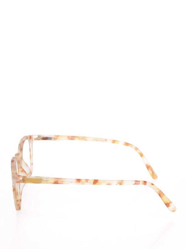 Hnedo-žlté vzorované unisex ochranné okuliare k PC IZIPIZI  E  394eabac5fb