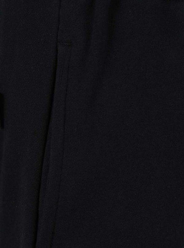 Čierne pánske teplákové kraťasy NUGGET Tool