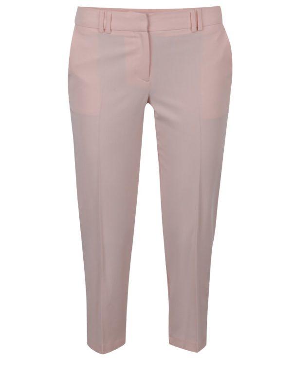 Svetloružové nohavice Dorothy Perkins Petite