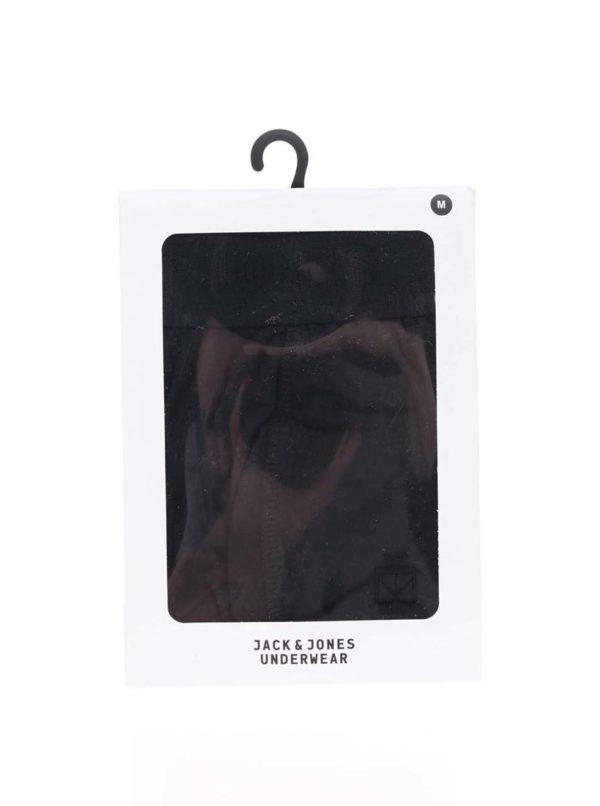 Čierne boxerky Jack & Jones Simple
