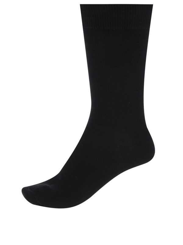Súprava piatich párov ponožiek v čiernej farbe Jack & Jones Jens