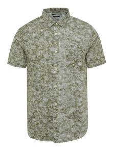 Kaki košeľa s tropickým vzorom ONLY & SONS Alfred