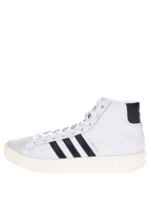 Biele dámske tenisky adidas Originals AllRound