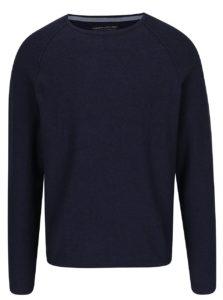Modrý melírovaný sveter Jack & Jones Trevor