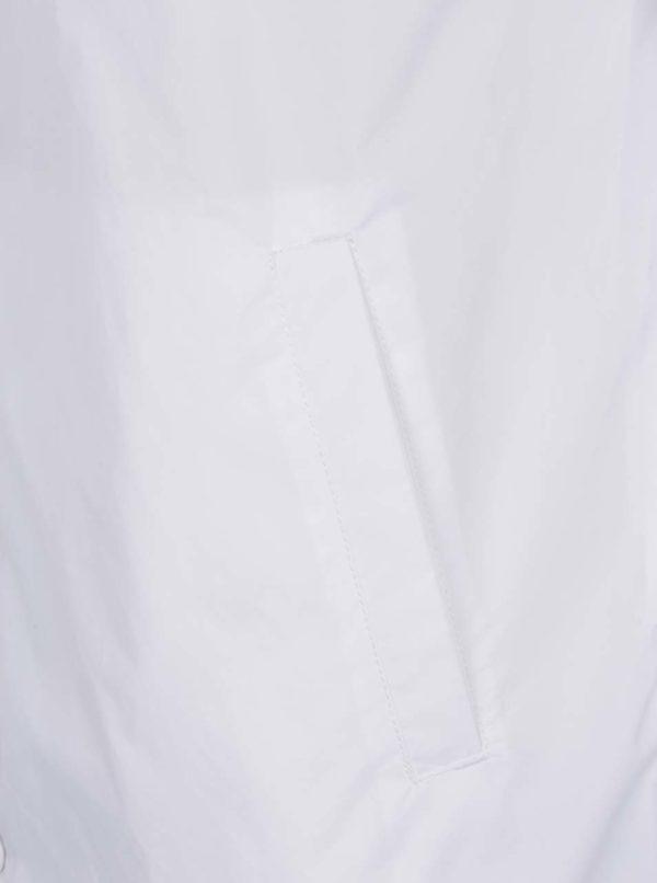 Biela pánska šuštiaková bunda s potlačou Snoopyho VANS Torrey