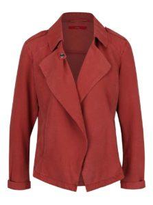 Červená dámska bunda s.Oliver