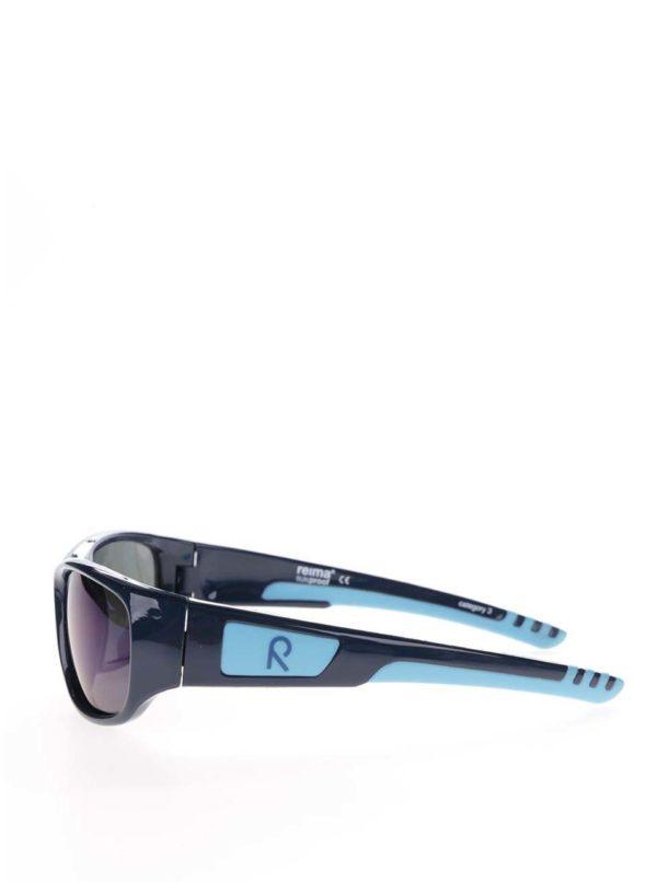 Tmavomodré chlapčenské slnečné okuliare Reima Sereno