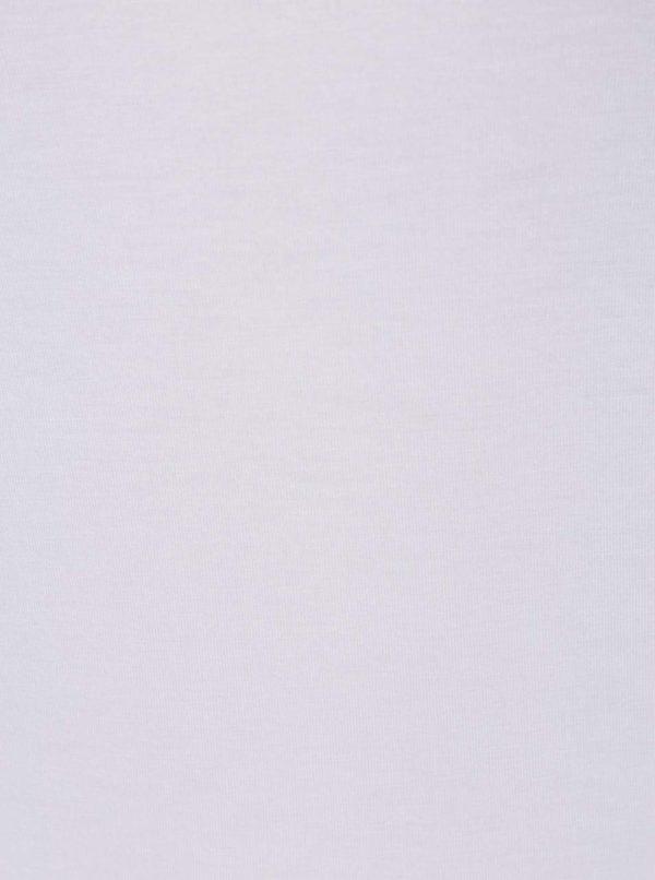 Biele basic tričko s dlhým rukávom Selected Femme Mio