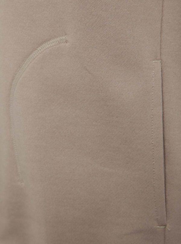 Béžová pánska mikina s reflexným prvkom adidas Originals XBYO