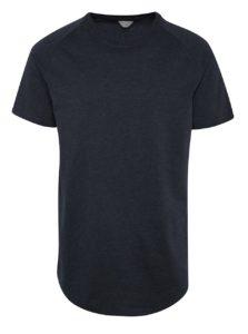 Modré tričko s krátkym rukávom Jack & Jones Corafe