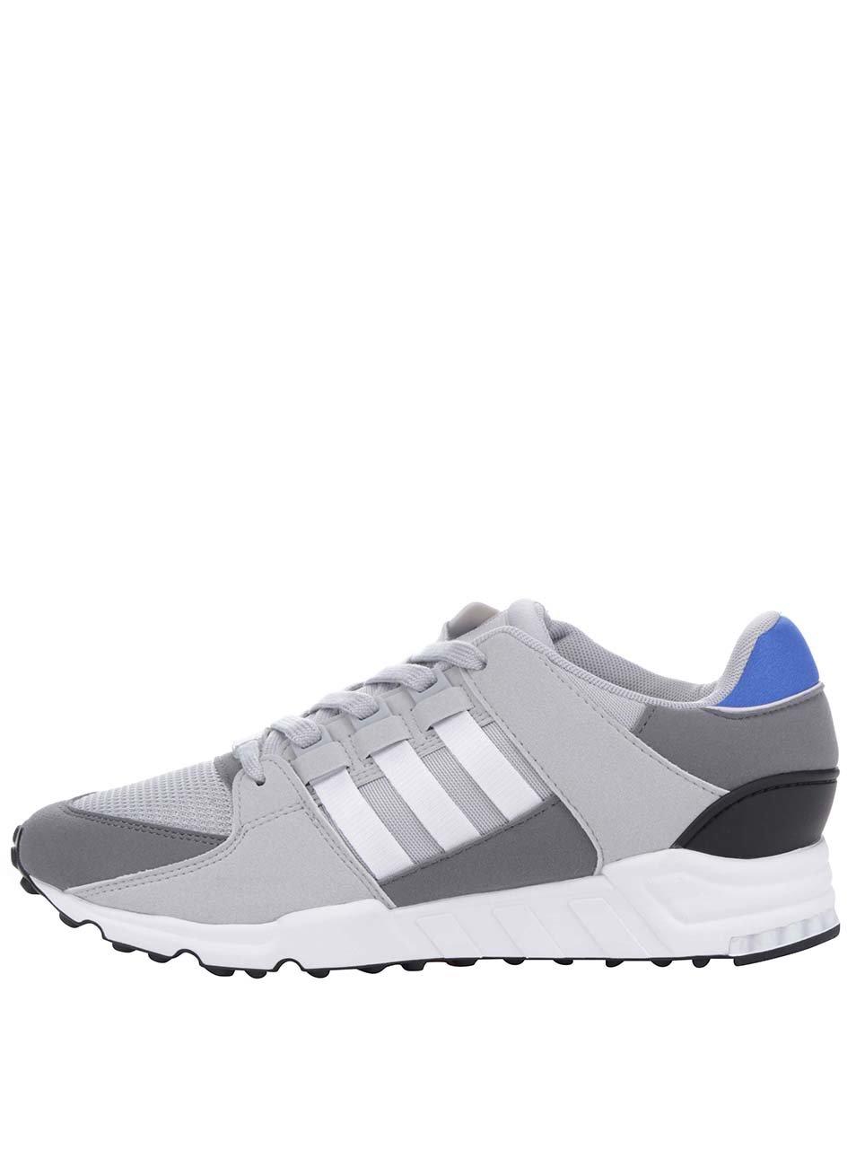 Sivé pánske tenisky adidas Originals Equipment Support  6fdba074b9b