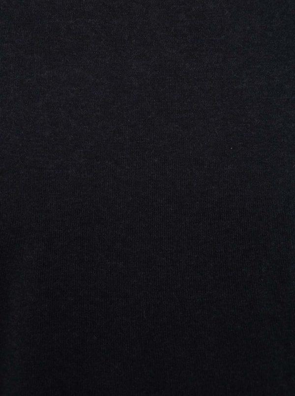 Tmavomodrý sveter Selected Homme Dome
