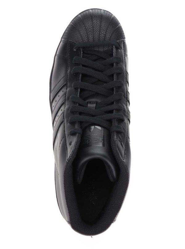 Čierne unisex členkové tenisky adidas Originals