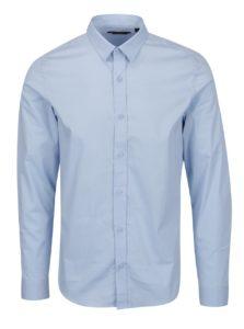 Modrá formálna extra slim fit košeľa ONLY & SONS Alfredo